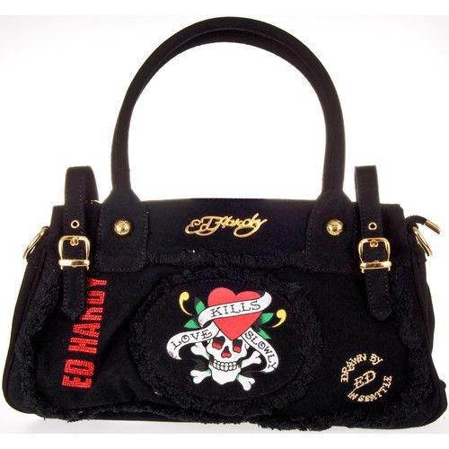 Ed Hardy Original Francesca Bag Black