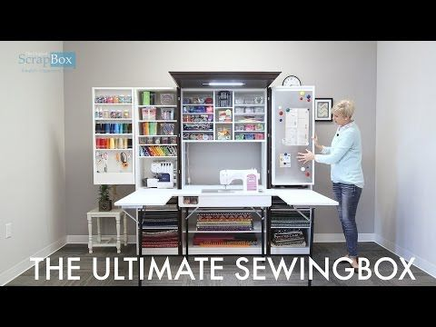 The Ultimate SewingBox! - YouTube