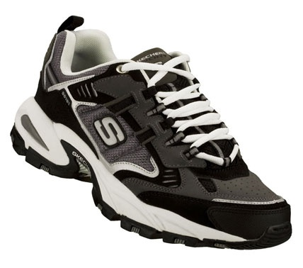 SKETCHERS Mens Vigor Insight Lace-up Sneakers - Grey - 12