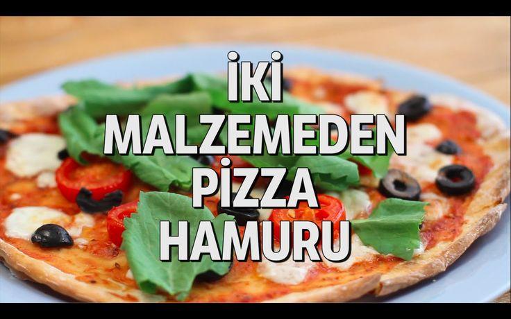Pizza Hamurunu İki Malzemeden Yapabileceğinizi Biliyor muydunuz?
