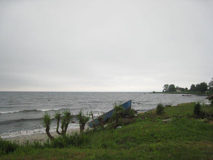 Stranden i Abbekås
