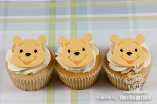 winny the pooh cupcake  www.facebook.com/melspais