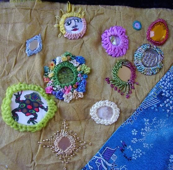 Best crafts shisha embroidery mirrors images on