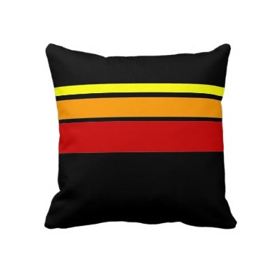 Red Yellow and Orange line pattern pillow #zazzlePattern Pillows, Pillows Zazzle, Throw Pillows