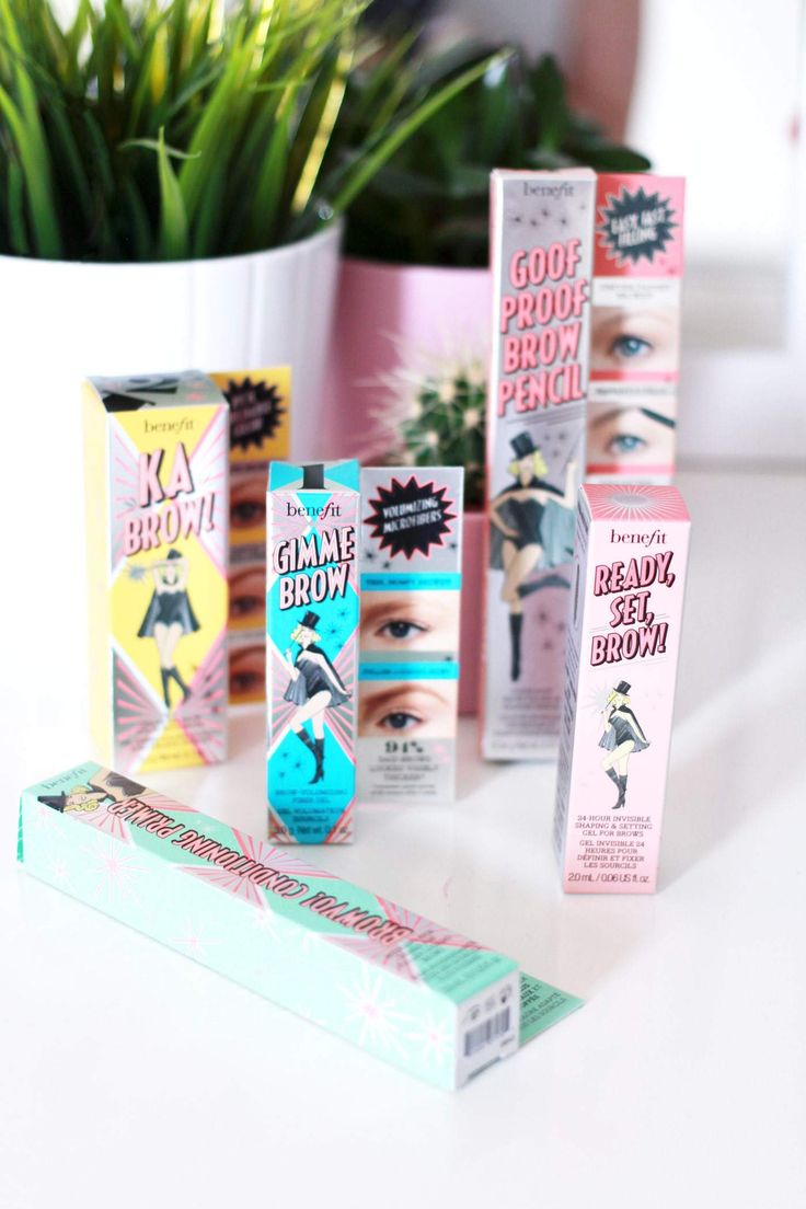 Benefit Brow Collection | Product Review and Swatches
