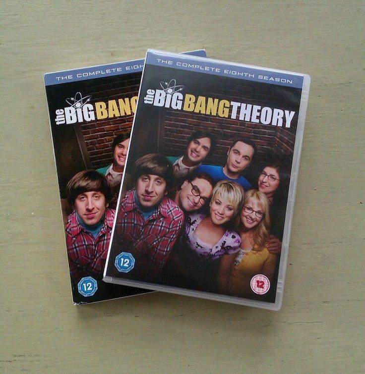 Big Bang Theory series 8 DVD Johnny Galecki Jim Parsons Kaley Cuoco-Sweeting