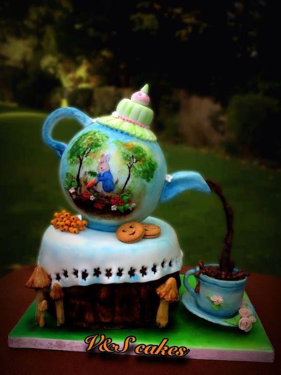 Torta teiera: tutte le torte di cake design a forma di teiera