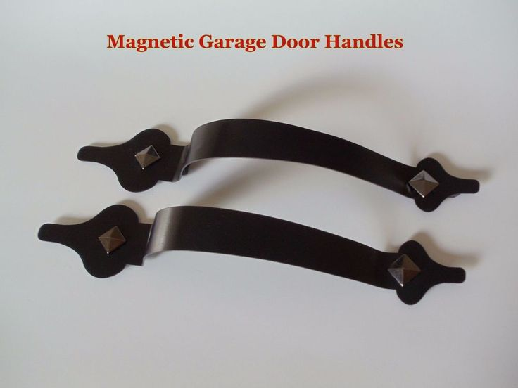 magnetic carriage house garage door decorative hardware handles - Garage Door Decorative Hardware