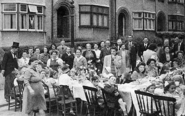 Bristol at War - VE-Day party, Brislington | by brizzle born and bred