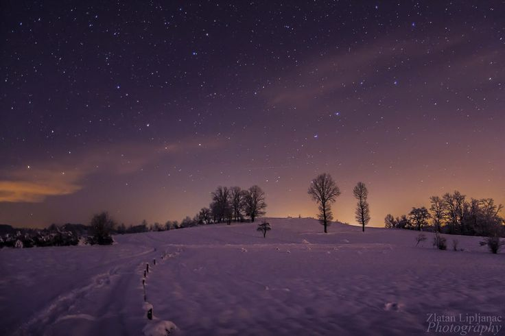 Night sky by Zlatan Lipljanac on 500px