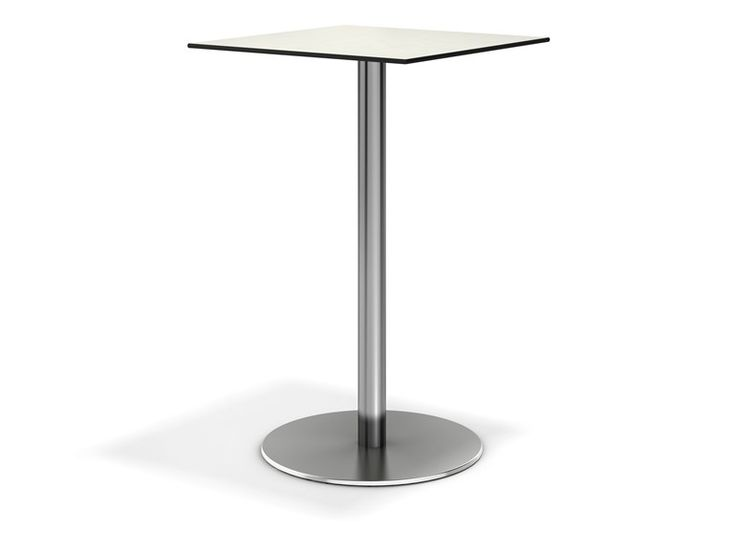 Square high table Centre Collection by Casala