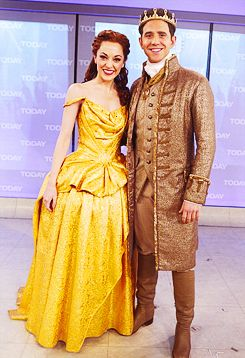 Cinderella's Laura Osnes and Santino Fontana on the Today Show