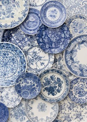 Blue Garden Collection A carefully curated variety…