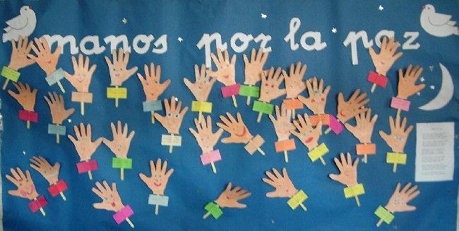 Celebra el día de la Paz con tus alumnos
