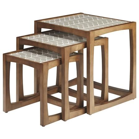 Orla Kiely Nested Set of Tables