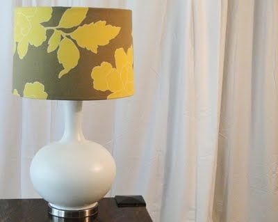 $8 lamp makeover from Salvage Savvy: Lamps Shades, Diy Lampshades, Salvaged Savvy, Lamp Makeover, White Rooms, Lamps Makeovers, Candles Chandeliers, Christmas Candles, Guest Posts