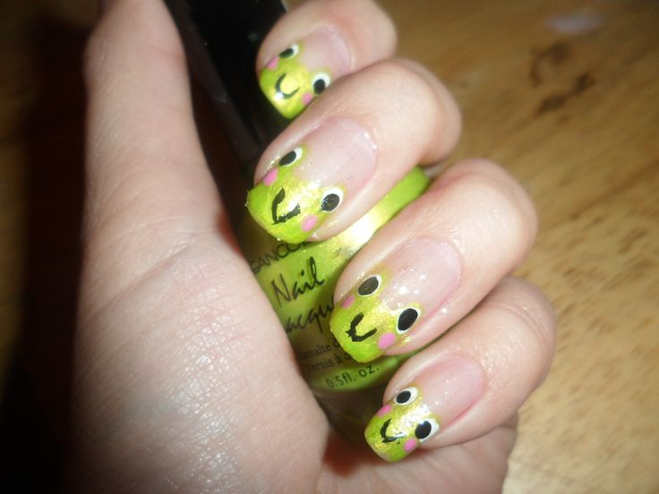 47 best cutout nail designs images on pinterest cut outs nail fun green faces cut out nail design prinsesfo Gallery