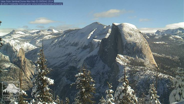 Yosemite in Winter. High Sierra Webcam Live Views | Yosemite Conservancy