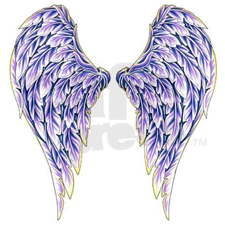 Dark Angel Wings Tattoo Designs   Purple Angel Wings Mugs by scorpionsamore