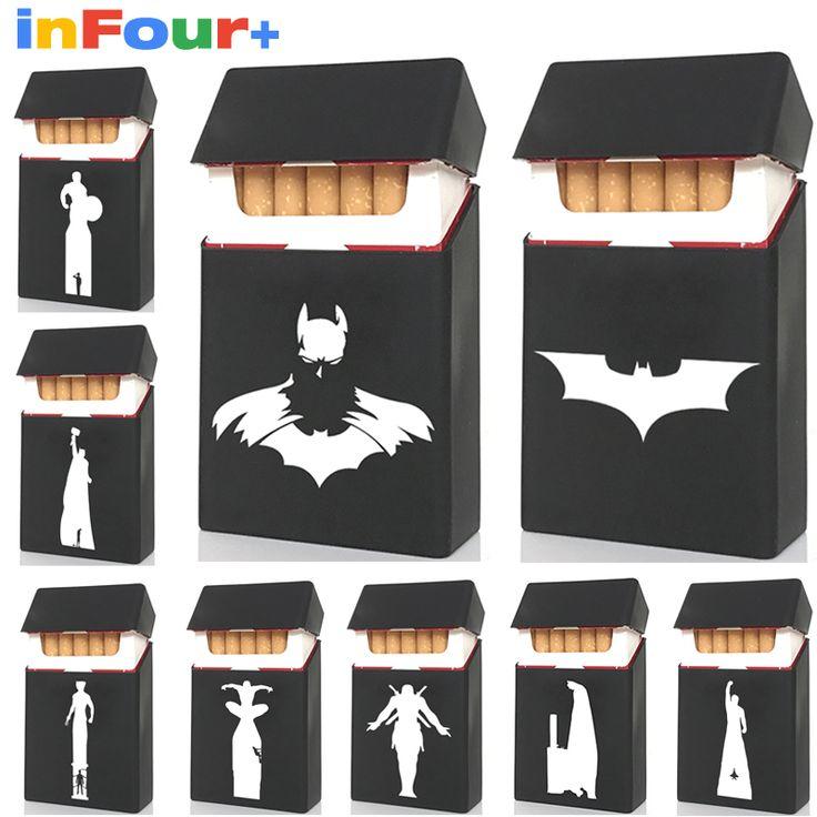 Super Hero Silicone Cigarette Case Silicone Box Lady 20 Women Cigaret Box Cigarette Box Case Pitillera De Silicona Cigarete Case #Affiliate