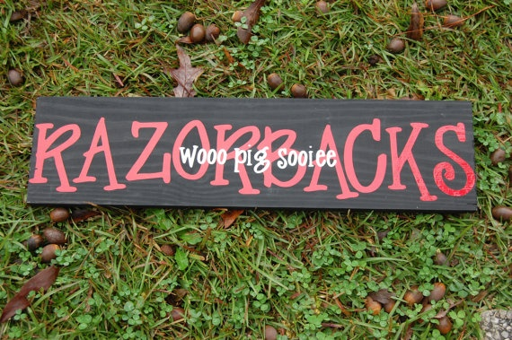 "I love the way ""Razorbacks"" is written."