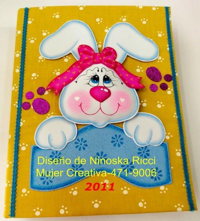 Cuaderno decorado Conejo