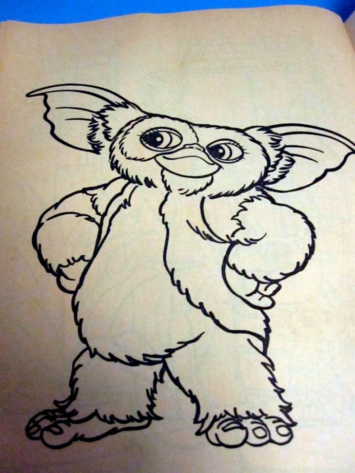 Gremlins 2 Coloring Book Coloring