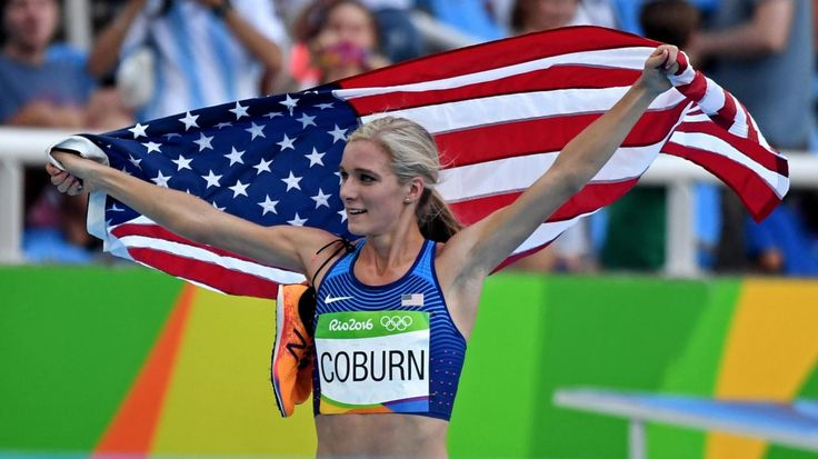During Rule 40 Blackout, Emma Coburn Showcases New Balance on Olympic Stage
