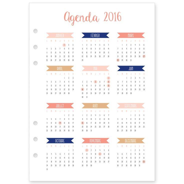 Les 25 meilleures idées de la catégorie Calendrier annuel sur - format for an agenda