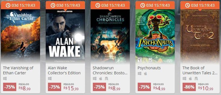 [NUUVEM] Especial Nordic Games (Alan Wake, Psychonauts, The Vanishing of Ethan Carter...)