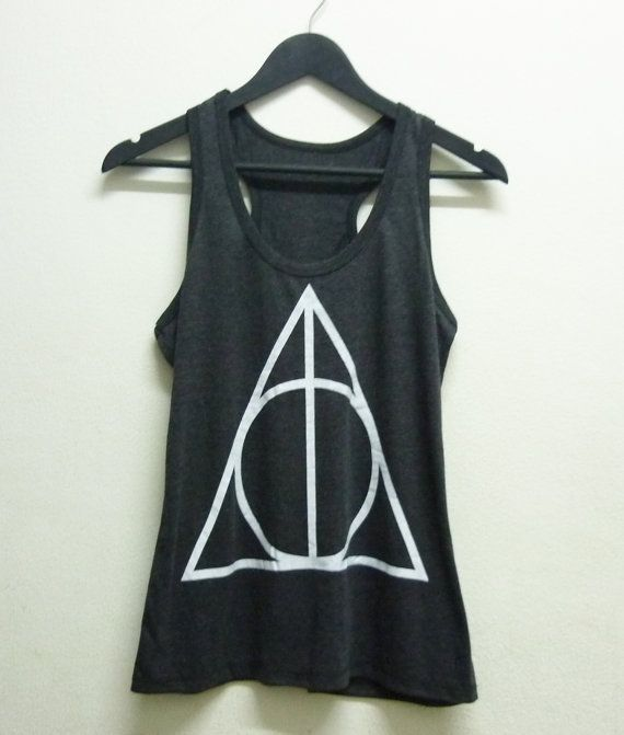 Harry Potter tank top Fashion Ladies tee size s m l xl Clothing Tank Women shirt women t shirts harry potter teen shirt teen tank top teen singlet singlet deathly hallows witch tank top always witch shirt deathly hallow by BlackTeenFashion