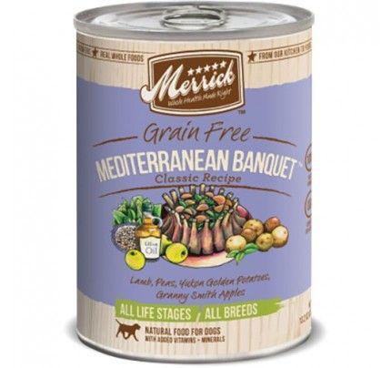 Merrick Grain-Free Classic - Mediterranean Banquet - 13.2 oz - 12 pk