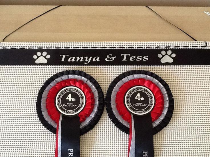 Rosette Holder for your dog show rosettes