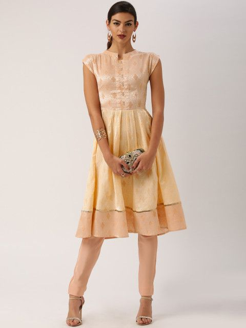 Want to buy ethnic wear for summer. Invest in some lightweight breezy kurtas that are both trendy and comfy kurtas.  Women ethnic wear, kurta, Women kurta, summer ethnicsm, kurta outfit ideas, Trends to try, Ethnic trends for women, Peach coloured kurta