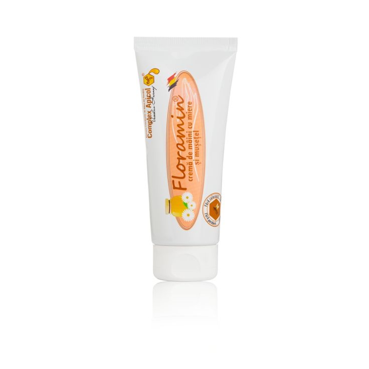 Floramin hand cream Acacia, chamomile oil Crema maini Floramin