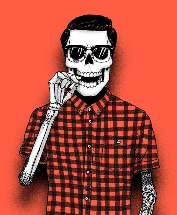 A arte da cor! » Bones hypster Sebastien Cuypers
