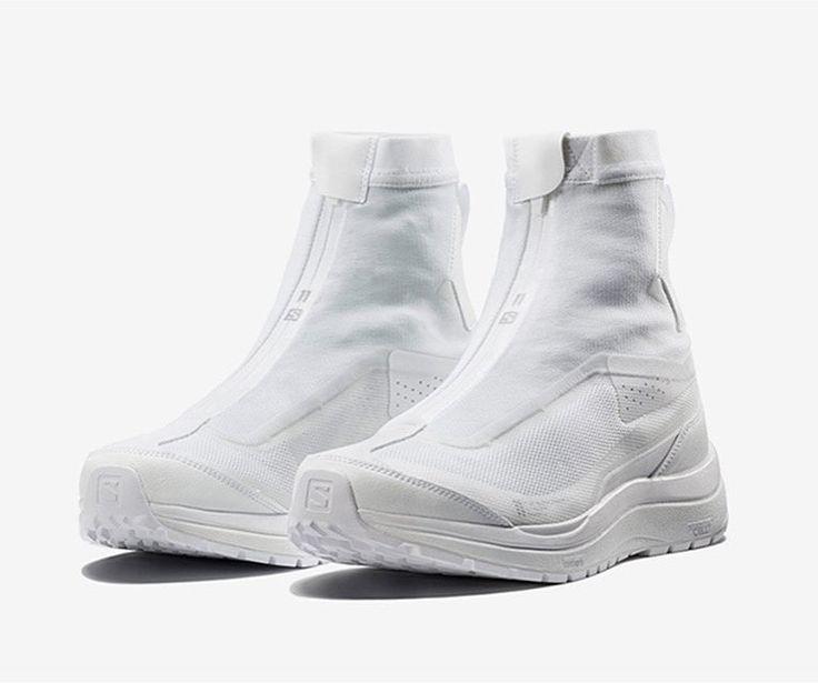 22 vind-ik-leuks, 3 reacties - Theshoezologist (@theshoezologist) op Instagram: '. triple white . Advanced hiking boots by @salomon : www.highsnobiety.com #shoezology…'