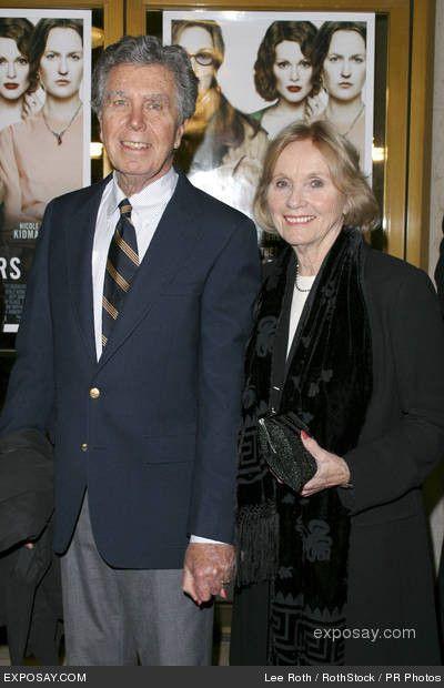 Eva Marie Saint and husband Jeffrey Hayden