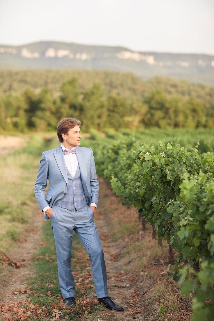 groom - vines - Provence - wedding in Provence - wedding planner: Laura Dova Weddings - www.lauradovaweddings.com Photography by Philip Andrukhovich