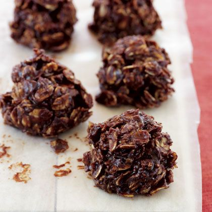 healthier take on no bakes: Cookies, Recipe, Chocolates, Oat Clusters, Dark Chocolate, Food, Chocolate Oat, Healthy, Peanut Butter