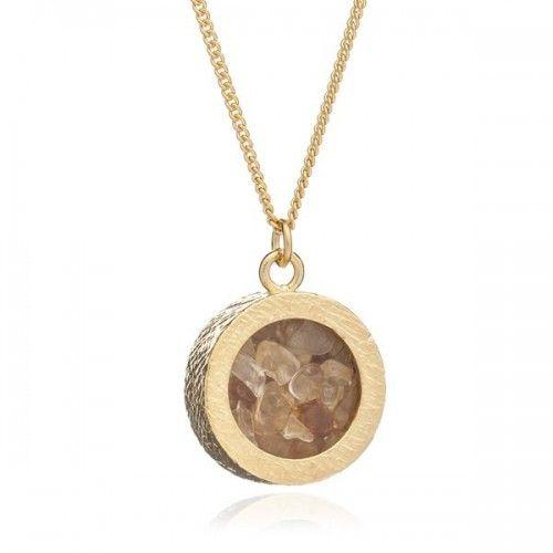 Rachel Jackson London November birthstone necklace - Metallic HoADasE