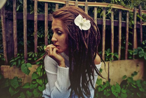 absolutely on my bucket list: to have some beautiful #dreads and not give a f* what anyone thinks about it.
