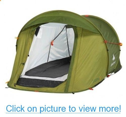 DECATHLON 2 Seconds Pop Up Easy-to-carry Tent Green