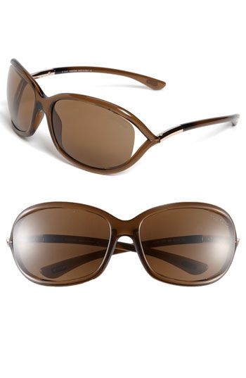 Tom Ford 'Jennifer' 61mm Polarized Sunglasses available at #Nordstrom 450