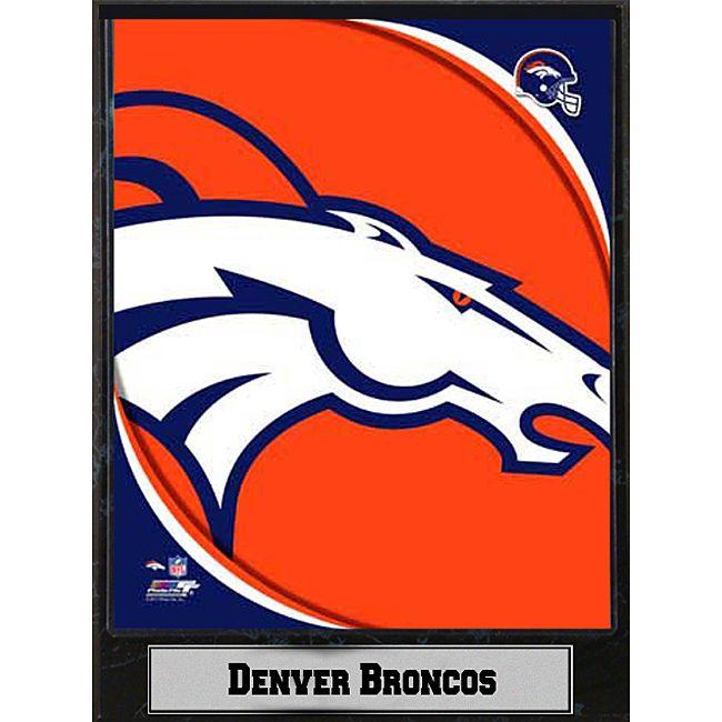 2011 Denver Broncos Logo Plaque