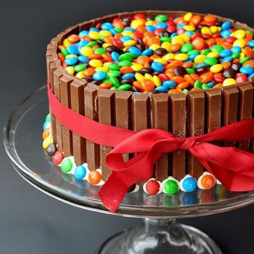 looks like a great kids party treat, but I know a grown man who would love this cake!