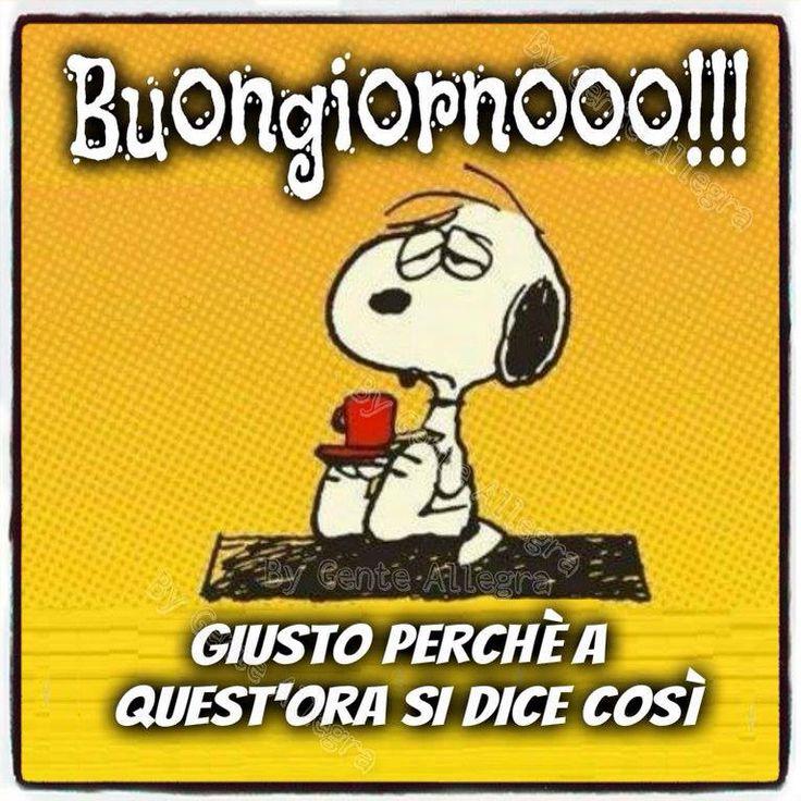 Snoopy Immagini Buongiorno Stati Per Whatsapp Con Le