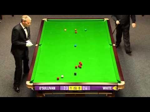 Snooker World Open 2010 - Ronnie O'Sullivan v Jimmy White - YouTube