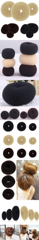 Bluelans Women's Magic Blonde Donut Hair Ring Bun Former Shaper Hair Styler Maker Tool