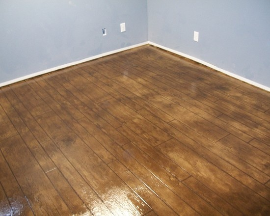 Fresh Stained Basement Floor Ideas